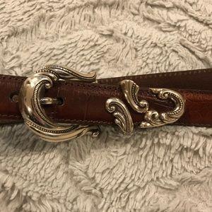XL Vintage Leather Belt